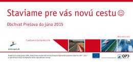 Obchvat Prešova do júna 2015