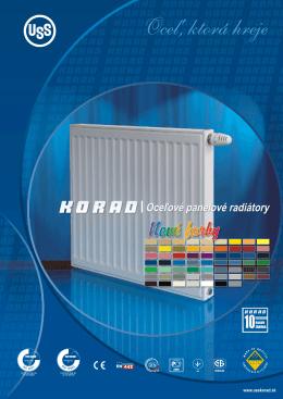 Katalóg radiátorov KORAD