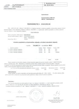 - ..-avuJe - Gymnázium, ul. Duchnovičova 13, 068 01 Medzilaborce