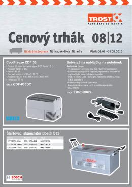 Štartovací akumulátor Bosch ST5 CoolFreeze CDF 35 Obj.č
