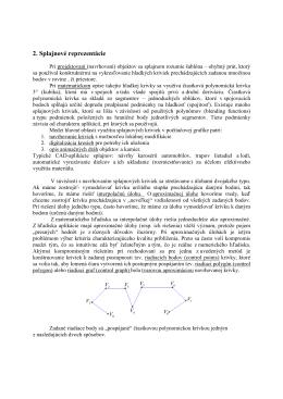 Polynomická interpolácia, podmienky spojitosti