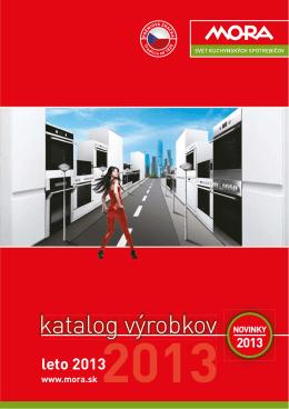 katalog výrobkov