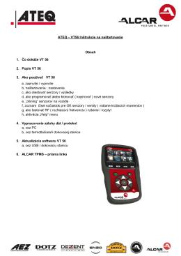1. Čo dok 2. Popis V 3. Ako po a, zapn b, našta c