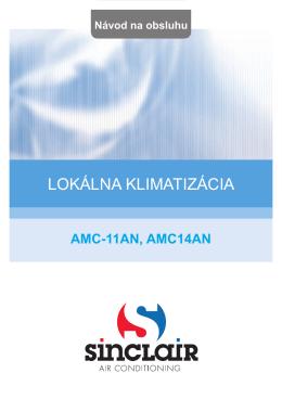 Návod na obsluhu AMC-14AN