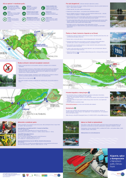 Kúpanie, splav a kempovanie v Národnom parku Donau