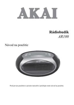 AR100 SK manual - dia