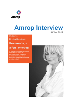 Amrop Interview