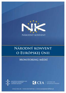 NK Monitoring médií - europeanaffairs.sk