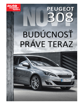 Priloha Peugeot 308.indd