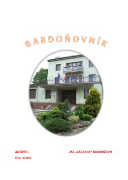 Bardoňovník 02/2014