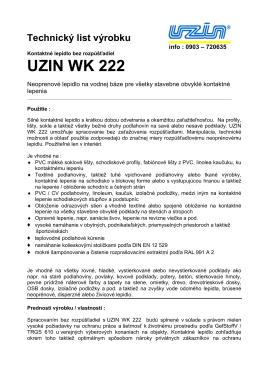 UZIN WK 222