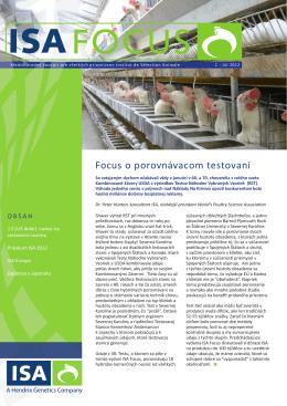 Focus o porovnávacom testovaní