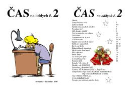 Čas na oddych VII. č.2 - ZŠ Škultétyho, Topoľčany