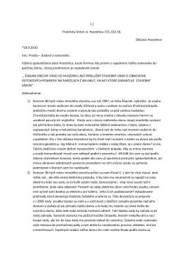 1.) Prašnický Anton st. Hvozdnica 155, 013 56. Občania