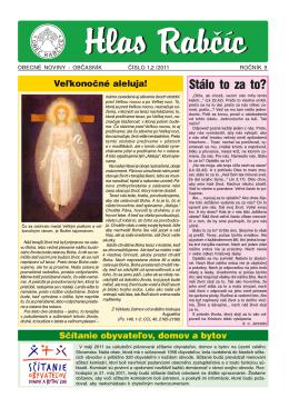 Obecné noviny 1,2 / 2011
