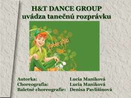 Peter Pan - H&T Dance Group