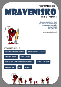 Mravenisko 14/15/06