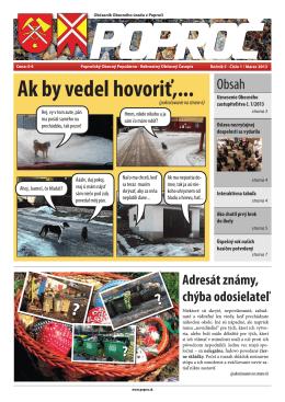 Obecné noviny 1 2013