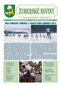 Zuberské noviny 1/2013 Formát PDF