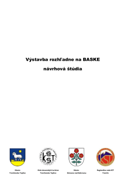Štúdia rozhladne na Baskom