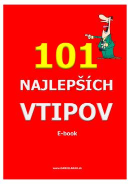 Ebook 101 najlepsich vtipov