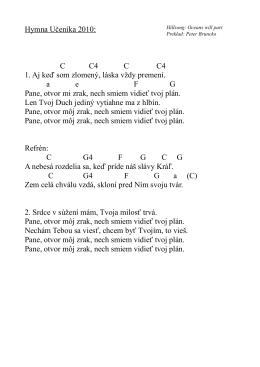 Hymna Učeníka 2010