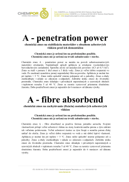 A - penetration power A