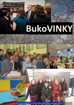 Časopis 5/2014 - Základná škola na Ulici Ivana Bukovčana 3