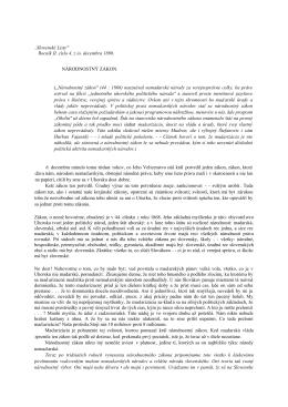 """..Slovenské Listy"""" Rocník II. císlo 4. z io. decembra 1898"""