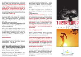 Terorizmus verzus islam - PDF