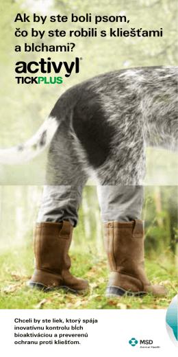 Ak by ste boli psom, čo by ste robili s kliešťami a blchami?
