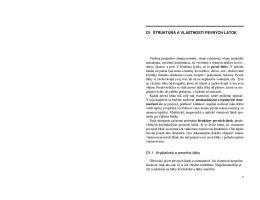 D1 ŠTRUKTÚRA A VLASTNOSTI PEVNÝCH LÁTOK D1.1