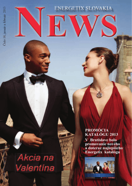 PROMÓCIA KATALÓGU 2013 V Bratislave bolo promovanie nového