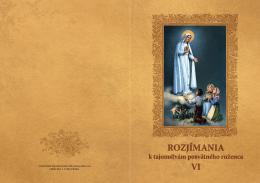 Rozjímania VI. - Inštitút Nepoškvrneného Srdca Panny Márie