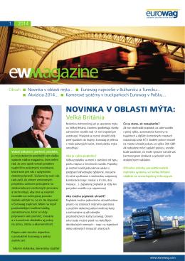 EW Magazín - EUROWAG.COM