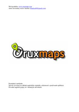 Mapy - OruxMaps