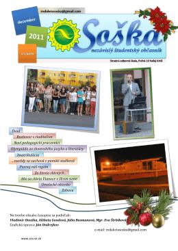 Školský časopis SOŠka - december 2011 . pdf