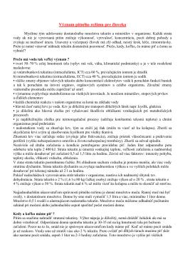Význam pitného režimu pre človeka (pdf, 48 kB)