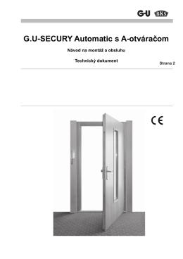 G.U-SECURY Automatic s A