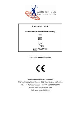 Axis-Shield Active-B12 (Holotranscobalamin) EIA FMABT100