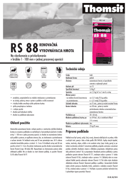 RS 88 - Thomsit