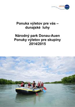 Dunajské luhy - Nationalpark Donauauen