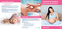 DÔLEŽITÉ INFORMÁCIE pred cestou do pôrodnice PO