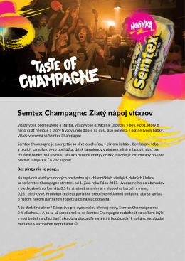 Semtex Champagne