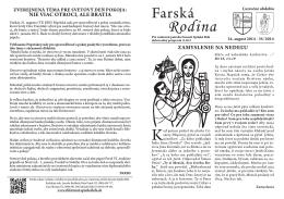 2014_35 Farska_rodina