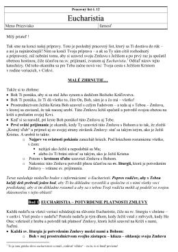 Pracovný list č