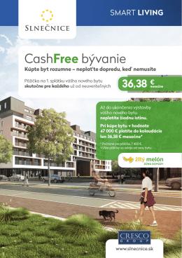 CashFree bývanie