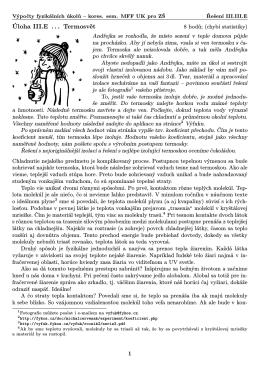 Výfuk, III.III.5 Termosvět