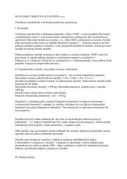 Všeobecné obchodné podmienky [PDF]