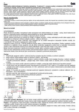 Návod E083 SK/EN.pdf - Ťažné zariadenia GALIA